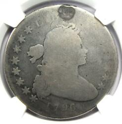 1796 Draped Bust Silver Dollar $1 Small Eagle Coin Certified NGC AG Details