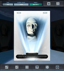 Topps Star Wars - Character Of The Month - The Grand Inquisitor White Base