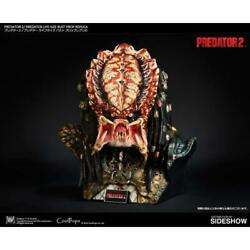 Predator 2 Life Size Bust Prop Replica Sideshow Cool Props Busto