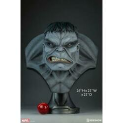 Marvel Grey Hulk Busto Sideshow Collectibles - Life Size Bust