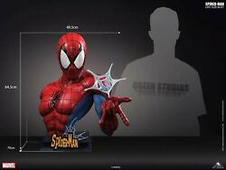 Busto Spiderman Queen Studios Classic Life Size Bust Spider-man