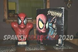 Spiderman Busto Escala Real Sideshow Life Size Bust Spider-man Avengers
