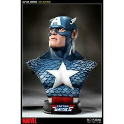Capitan America Life Size Bust / Captain America Sideshow Collectibles