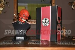 Red Skull Life Size Bust Sideshow Collectibles Hydra Captain America / Capitan