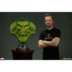 Marvel Hulk Busto Sideshow Collectibles - Life Size Bust