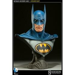 Batman Modern Age Busto Escala Real - Sideshow Collectibles - Life Size Bust