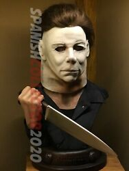 Ex Halloween Michael Myers 195 Hcg Hollywood Collectibles Group Life Size Bust