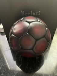 Berluti Soccer Ball Extremely Rare Collector Item Brand New Sold Out