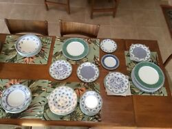Villeroy And Boch China Dinnerware Switch 3, 36 Pieces Set For 8