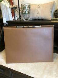 Authentic Desk Mat Antique Bamboo Leather