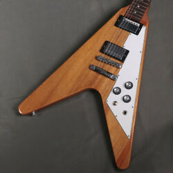 Gibson Flying V Antique Natural Used Electric Guitar