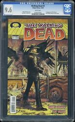 The Walking Dead 1 2003 Image Comics Cgc 9.6 - First Appearance Rick