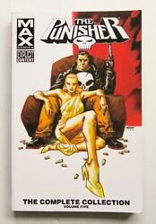 Punisher The Complete Collection 5 Max Comics Marvel Graphic Novel Comic Book