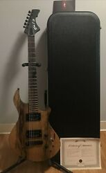 2017 Brooks Cobb Clon3 Handcrafted In Usa Electric Guitar W/skb Hard Case