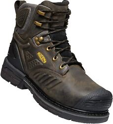 Keen Utility Menand039s Philadelphia 6andrdquo 400g Insulated Composite Toe Waterproof...