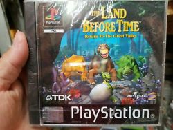 The Land Before Time Ps1 Region Pal Brand New Never Open