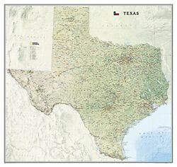 Texas [tubed] National Geographic Reference Map By National Geographic Maps