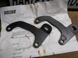 Harley Vance And Hines Exhaust Brackets Touring Glide Ultra Dyna Softail Road King