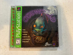 Oddworld Abeand039s Oddysee Ps1 Playstation 1 Complete Greatest Hits
