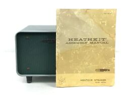Heathkit Sb-600 Speaker And Hp-23a Plus Power Cable And Manual