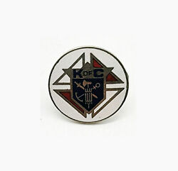 Vintage Knights Of Columbus Member Lapel Pin Tack K Of C 1 Excellent Cnd