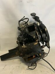 Johnson Evinrude Outboard 25hp Powerhead 2 Cylinder With Cdi Carburetor Pull St
