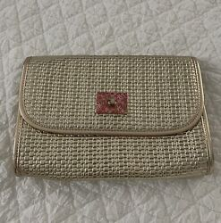 Lilly Pulitzer Gold Clutch $33.00