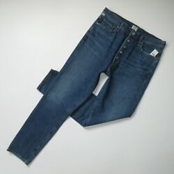 Nwt Citizens Of Humanity Olivia In Circa High Rise Slim Ankle Crop Jeans 32