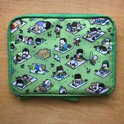 Hobonichi Drawer Pouch A Perfect Day for Picnic Blankets Large $70.00