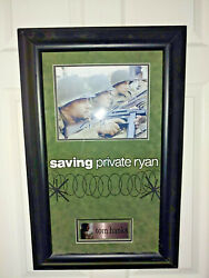 Museum Framed - Tom Hanks In Saving Private Ryan - Autographed