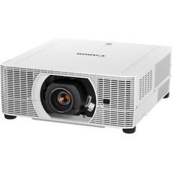 Canon Realis Wux5800 5800-lumen Projector And Rs-sl01st Lens Kit Model 2497c006