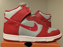 1999 Nike Dunk High Le Sz 9 New Unlv Ultraman 100 Authentic Sb 630335-061 Red