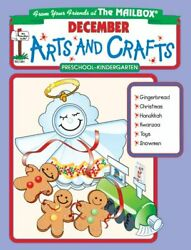 December Monthly Arts And Crafts By Mailbox Books Staff Mint Condition