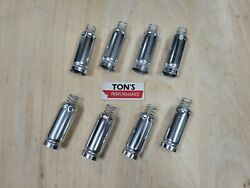 Spark Plug Wire Boot Heat Shield Protectors Set Of 8 For Ls And Lt Engines Silver