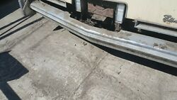 1975 Eldorado Rear Bumper With Ends Does Have Wear Pitting Oem Used Cadillac