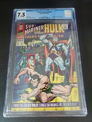 Tales To Astonish 90 Cgc 7.5 First Abomination Ow/w Pgs. Brand New Slab Flawles