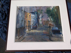 Anthony Springer Nyc, Manhattan Alleyway,fifth Avenue,gated Community,townscape