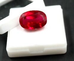 Unheated Untreated 29.20ct 20mm 13mm Natural Red Ruby Gemstone Big Offer Ga1426