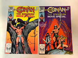 Conan The Barbarian Movie Special 1982 1 And 2 Vf+ Complete Set Adaptation