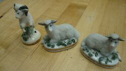 Antique Staffordshire figurines collection set of three