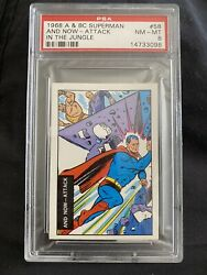 1968 A And Bc Superman And Now - Attack In The Jungle Psa 8
