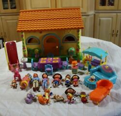 Dora The Explorer Talking House With Furniture And Figures Twins Works Great Vguc
