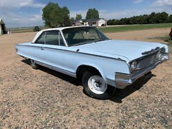1965 Chrysler Newport Rolling Chassis And Body Colorado Car Surface Rust Only