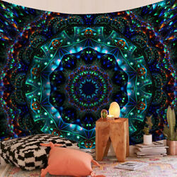Tapestry Indian Mandala Bedspread Wall Hanging Hippie Home Living Room Decors