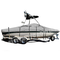 Tige Pre 2100 Wt With Wakeboard Tower Trailerable Storage Fishing Ski Boat Cover