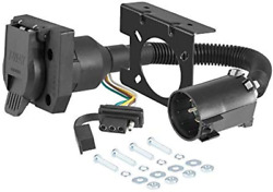 Curt 55774 Dual-output Vehicle-side Trailer Wiring Harness Connectors For Uscar,