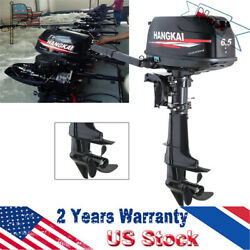 New!4stroke 6.5hp Outboard Motor Boat Marine Engine Water-cooling System Cdi 12l