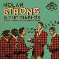 Nolan Strong - For Old Times Sake-complete Early Sides - Cd - Import - Brand New