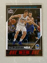 2016-17 Panini Nba One On One Stephen Curry Vs Blake Griffin 9 Haa No Contest