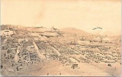 Victor Colorado Rppc Birdseye Town View And Mines Mining 1926